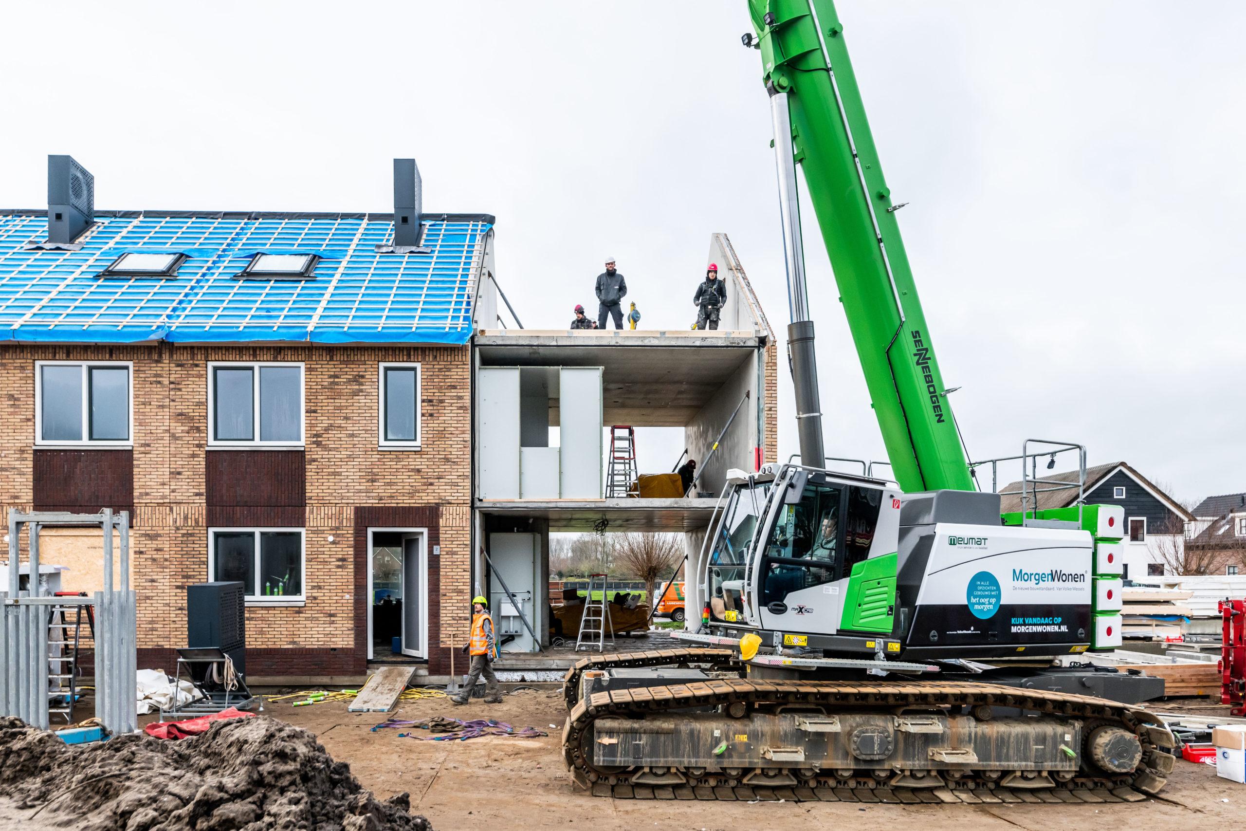 Oud-Alblas: bouw 12 nieuwe woningen